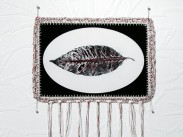 Dialogue With a Dream 03, 2009, Photography, Cotton, Crochet, Embroidery, Metallic Threads, 70 x 44 cm