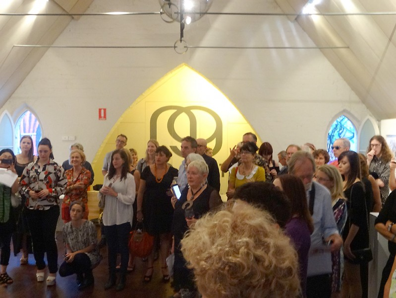 Opening of Little Secrets - Patricia Casey at NG Art Gallery, Chippendale, Sydney