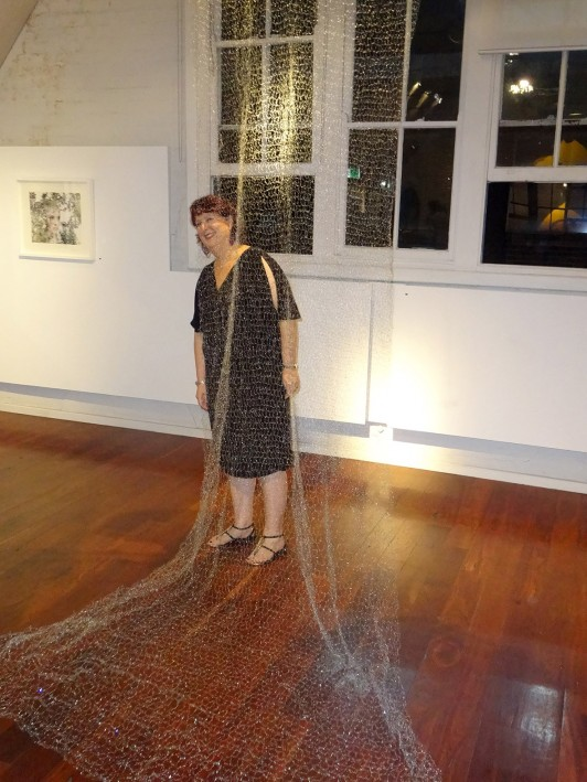 Little Secrets Exhibition Opening - Patricia Casey at NG Art Gallery, Chippendale, Sydney